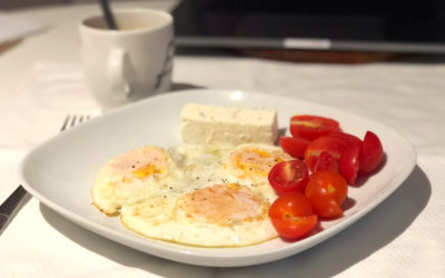 Where it all begins – Eggs, cheese & Tomatoes