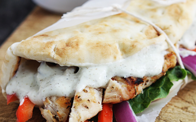 Easy chicken gyros to die for