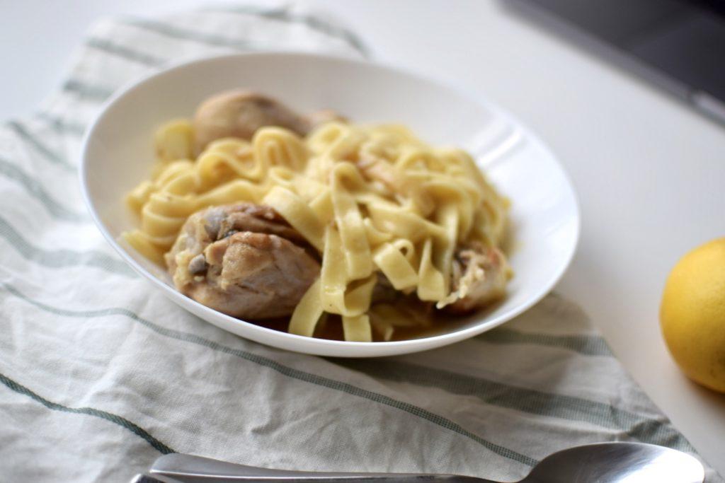 one-pot chicken tabliatelle
